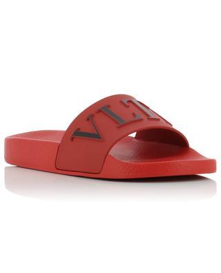 VLTN rubber slides VALENTINO