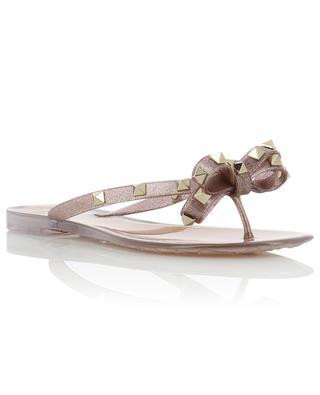 Flip-Flops aus Glitter-PVC Rockstud VALENTINO