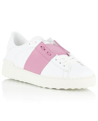 Open bi-tone leather sneakers VALENTINO