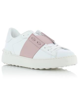 Open bi-tone leather sneakers VALENTINO