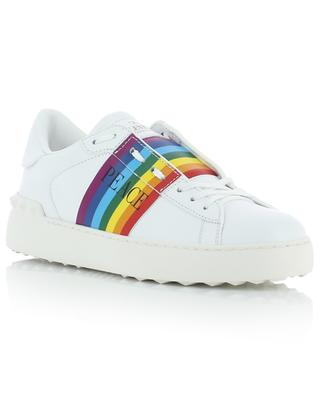 Rainbow leather sneakers VALENTINO