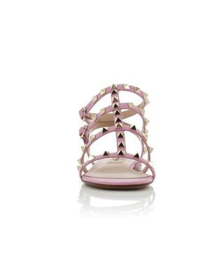 Rockstud leather flat sandals VALENTINO