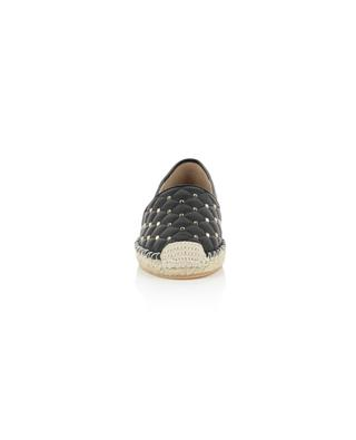 Rockstud Spike quilted leather espadrilles VALENTINO