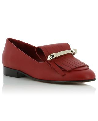 Leather loafers VALENTINO