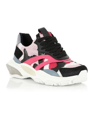 Baskets multi-matière Bounce Camouflage VALENTINO