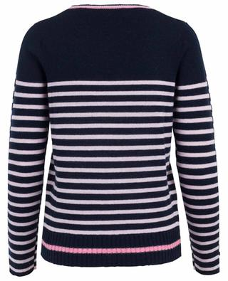 Gestreifter Pullover aus Wolle und Kaschmir PRINCESS