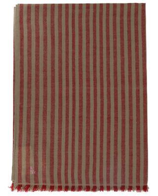 Striped cashmere pashmina SHAW & BROTHERS