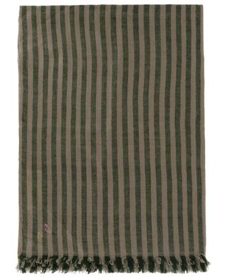 Striped cashmere pashmina SHAW & BROTHERS