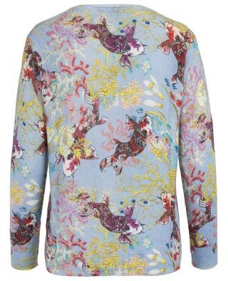 Pullover aus Wolle und Kaschmir Koi Karpfen PRINCESS