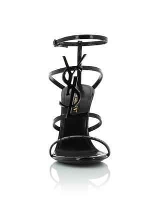 Cassandra 95 patent leather sandals SAINT LAURENT PARIS