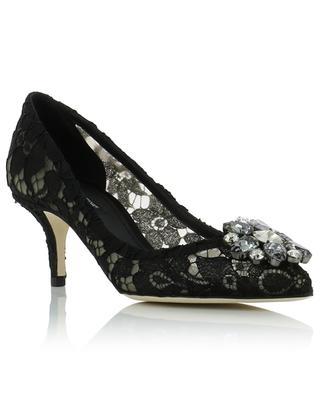 Embellished Taormina lace pumps DOLCE & GABBANA