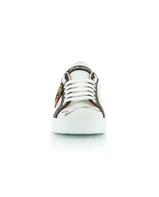 Portofino leather sneakers DOLCE & GABBANA