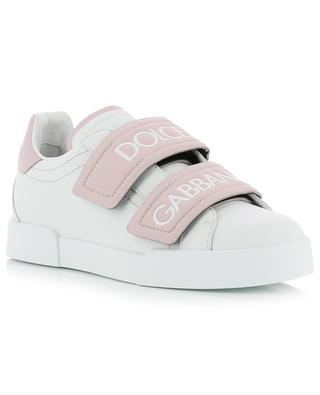 Portofino Light logo leather sneakers DOLCE & GABBANA