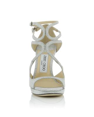Lance PF 100 heeled glitter sandals JIMMY CHOO