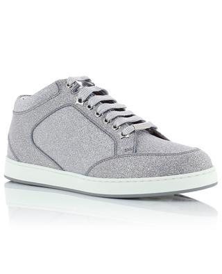 Glitzernde Ledersneakers Miami JIMMY CHOO