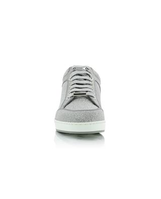 Glitzernde Ledersneakers Miami JIMMY CHOO