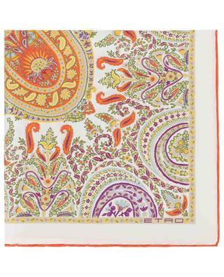 Carré de soie imprimé paisley Jodhpur ETRO