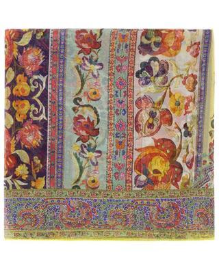 Carré de soie fleuri Bombay ETRO