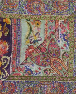 Bombay floral silk square ETRO