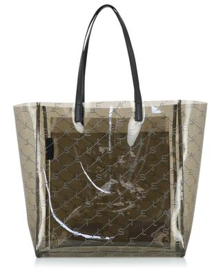 Monogram Medium transparent tote bag STELLA MCCARTNEY