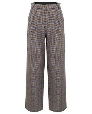 Pantalon large à carreaux Babette DESIGNERS REMIX
