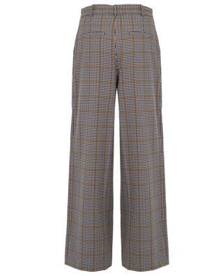 Babette check print wide leg trousers DESIGNERS REMIX