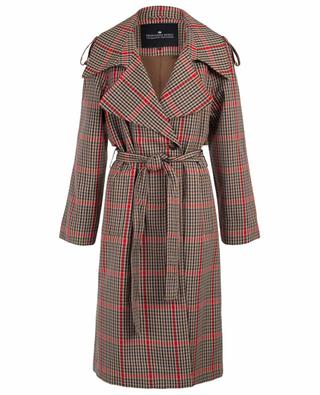 Helga checkered trench coat DESIGNERS REMIX