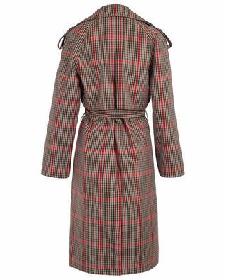 Helga checkered trench coat DESIGNERS REMIX
