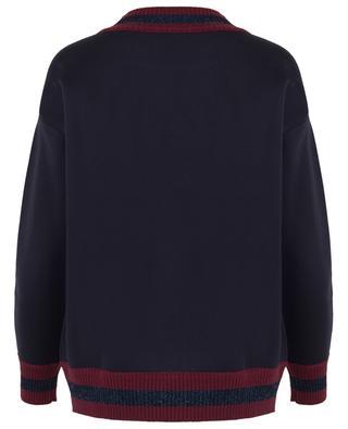Sweatshirt mit Rundhalsausschnitt aus Neopren MONCLER
