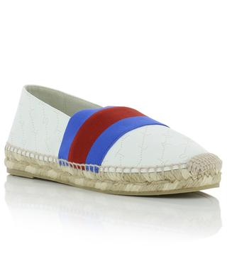 Monogram faux leather espadrilles STELLA MCCARTNEY