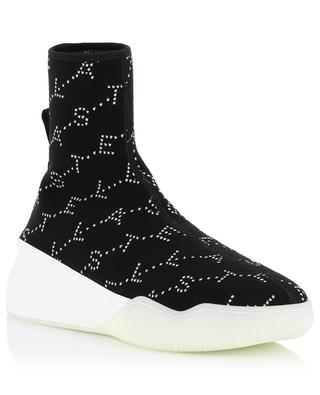 Logo Monogram high-top sock sneakers STELLA MCCARTNEY