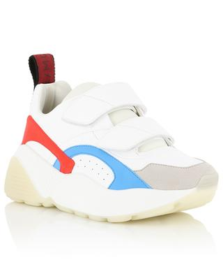 Eclypse faux leather and suede sneakers STELLA MCCARTNEY