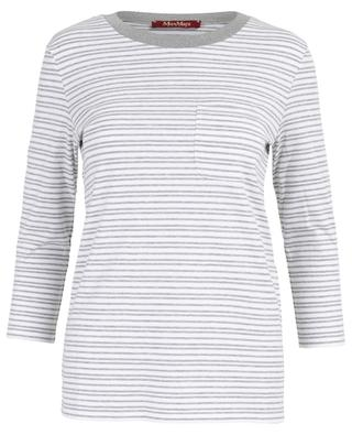 Striped cotton top MAXMARA STUDIO