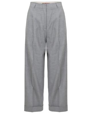 Peccati cropped tailored trousers MAXMARA STUDIO