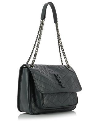 Tasche aus gestepptem Vintage-Leder Niki M SAINT LAURENT PARIS