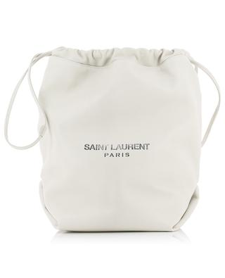 Bucket-Tasche aus Leder Teddy SAINT LAURENT PARIS