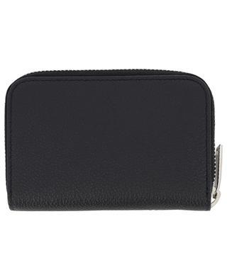 Small grained leather zip-around wallet SAINT LAURENT PARIS