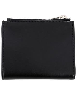 Monogram leather mini wallet SAINT LAURENT PARIS