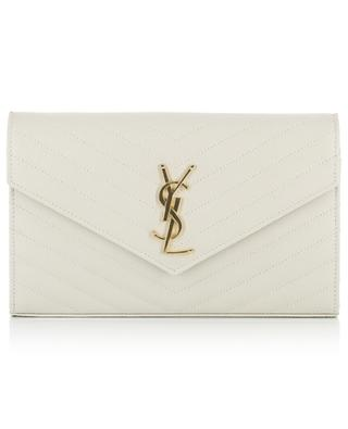 Portefeuille à chaîne matelassé Monogram Wallet SAINT LAURENT PARIS