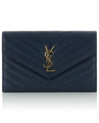 YSL quilted chain wallet SAINT LAURENT PARIS