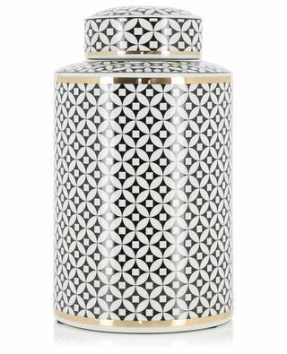 Grosse Vase aus emaillierter Keramik KERSTEN