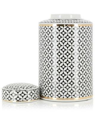 Large enamelled ceramic vase KERSTEN