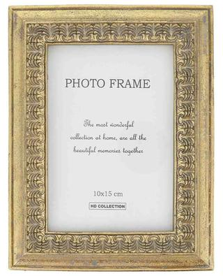 Golden photo frame KERSTEN