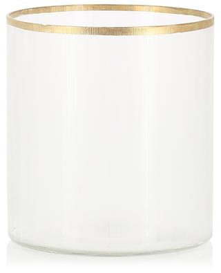 Medium glass vase KERSTEN
