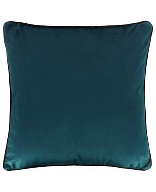 Bi-tone velvet cushion KERSTEN