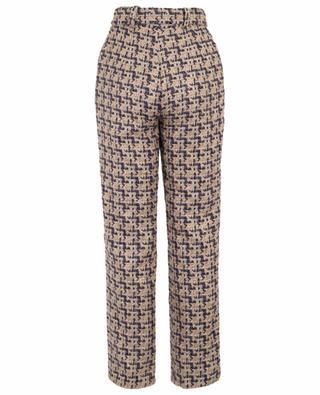 Pantalon droit en tweed Keep Me Save EZGI CINAR
