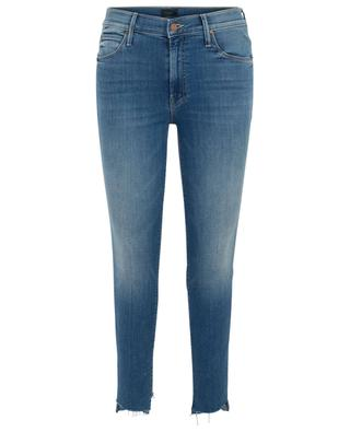 The Stunner Two Step Fray Love For Sail skinny jeans MOTHER