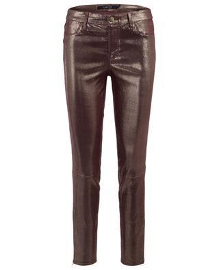 Irisierende Hose aus Leder J BRAND
