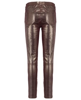 Gold leather trousers J BRAND