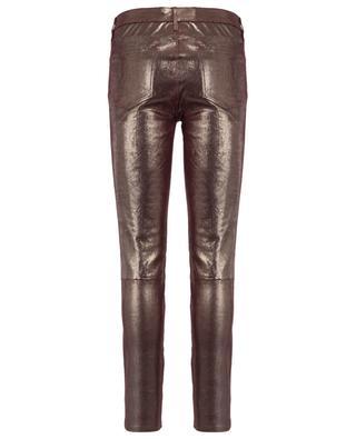 Pantalon en cuir irisé J BRAND
